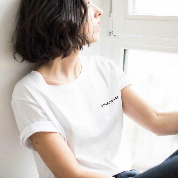 tee shirt cool amoureuse message amour acheter boutique paris