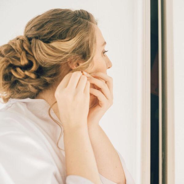 Formule Mariage Maquillage Coiffure à domicile avec ou sans essai par notre maquilleuse pro sur place, à Paris et proche banlieue