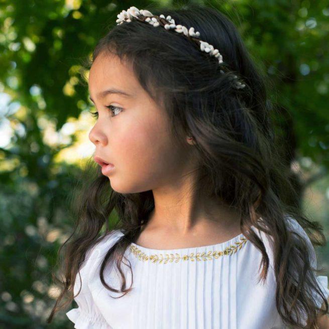 Couronne de fleurs fille Eva Les Petits Inclassables acheter boutique paris