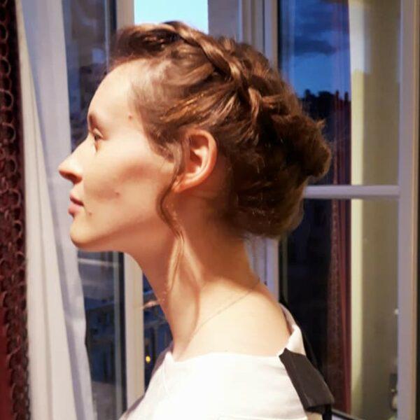 coiffeuse mariage à domicile paris coiffure mariée