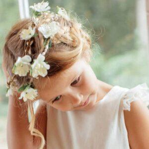Couronne de fleurs fille Juliette Les Petits Inclassables acheter boutique paris