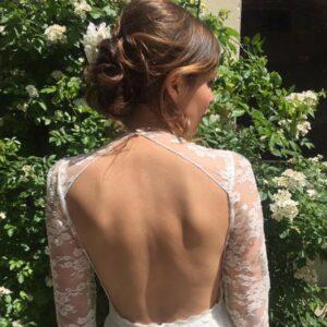 Coiffure Mariage avec ou sans essai à domicile pour mariée par notre coiffeuse pro ou sur le lieu de votre évènement, à Paris et proche banlieue