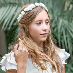 Couronne de fleurs fille Rosie Les Petits Inclassables acheter boutique paris