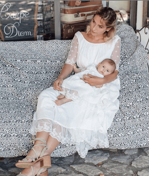 robe baptême blanche bohème longue thelma acheter boutique paris