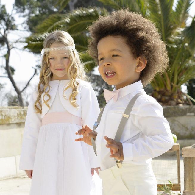 Chemise manches longues garçon Jules Les Petits Inclassables pour mariages, fêtes et bar mitzvah. Dispo boutique Paris où acheter à Paris
