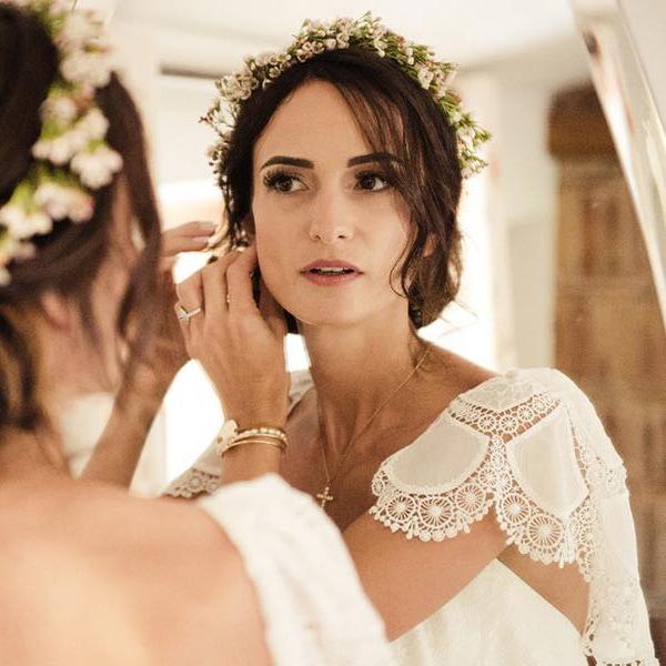 Maquillage Mariage avec ou sans essai à domicile pour mariée par notre maquilleuse pro ou sur le lieu de votre évènement, à Paris et proche banlieue