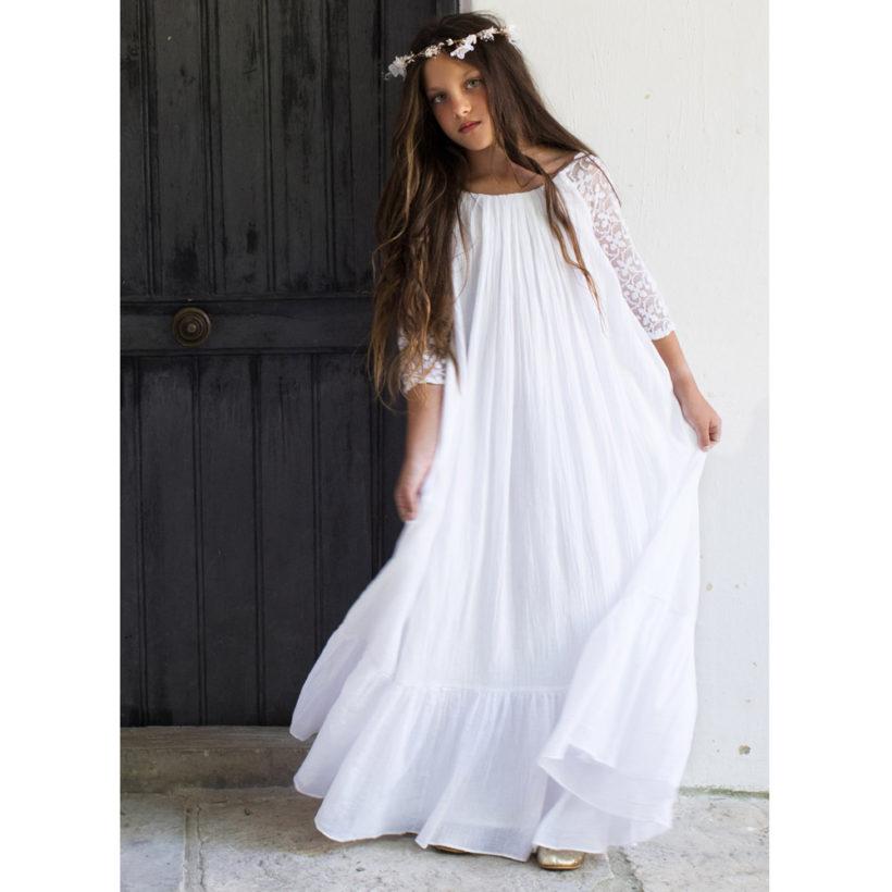 Robe Fille Ava Les Petits Inclassables