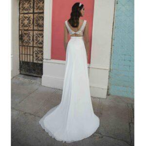 Robe de mariée longue Barbara Bo'M collection 2020