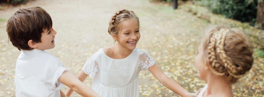 tenues enfants tenues cortège mariage robes fille et garçons d'honneur