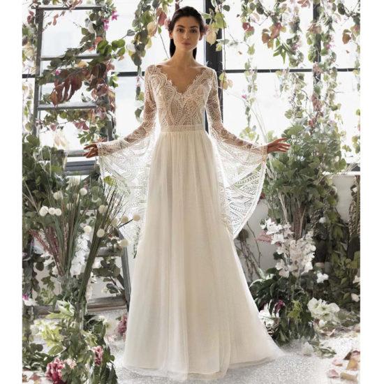 Nouvelle Collection Metropolitan 2020 Robes De Mariee Boheme Chic