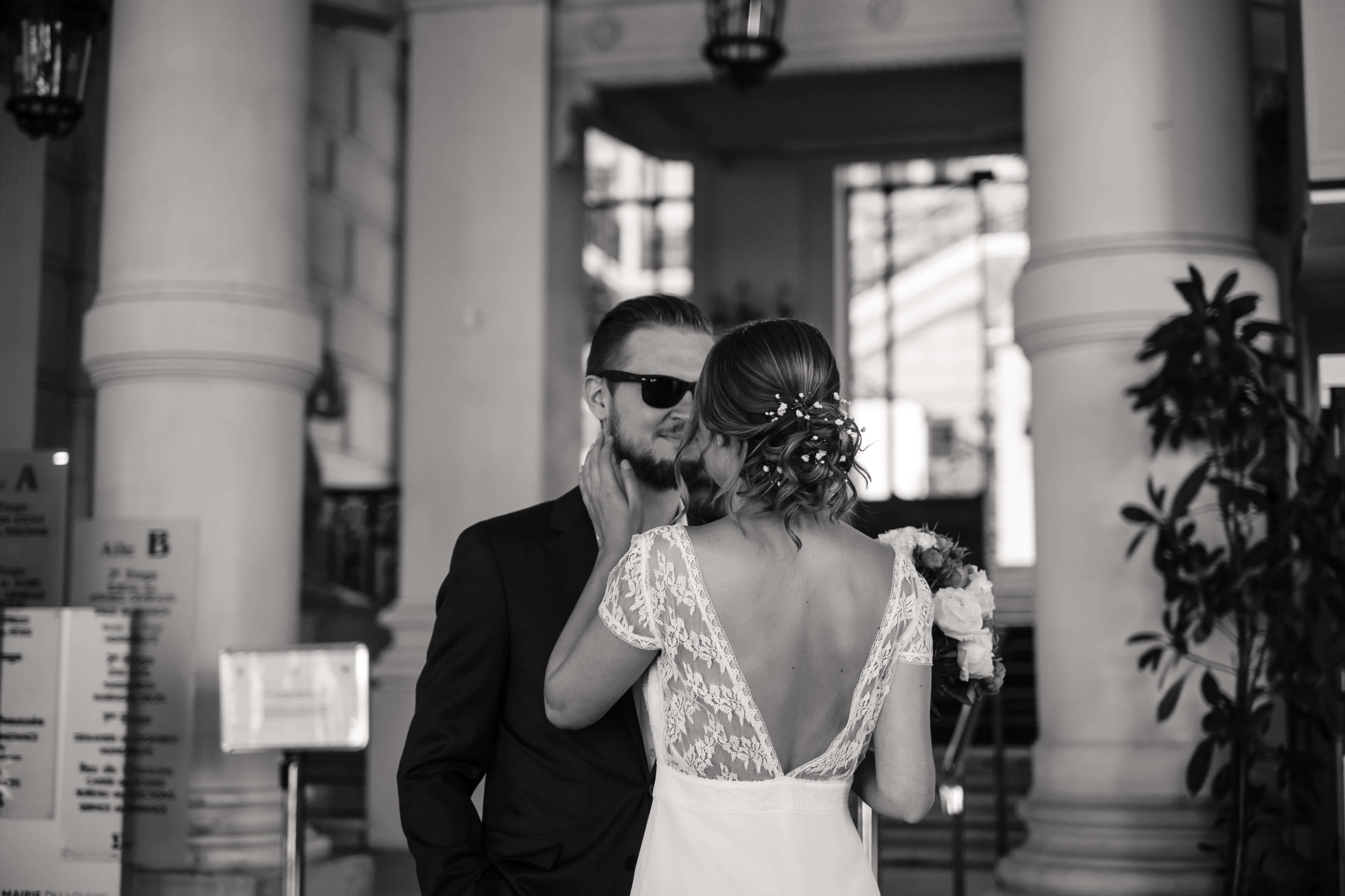 couple mariage photo coiffure mariée paris