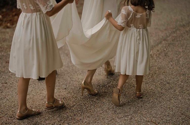 mariage robes enfant filles dentelle boutique paris