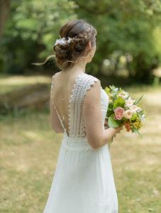 robe de mariée dentelle guipure brodée mariage 2019