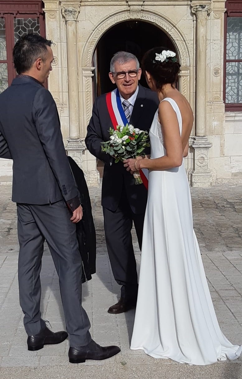 mariee elodie robe longue blanche intemporelle