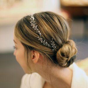 Nebo Couronne de perles pour les cheveux Ludmila