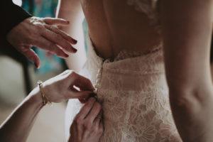 robe de mariée dentelle bohème