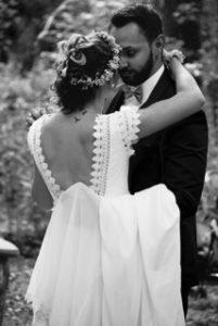 robe de mariée bohème dos nu alix boutique mariage paris