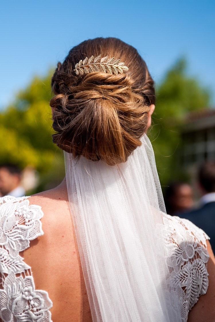 peigne feuilles doré mariage mariée acheter boutique paris