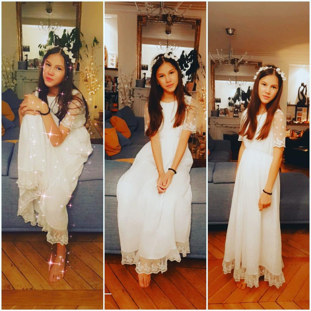 robe fille ceremonie thelma robe boheme longue acheter boutique paris