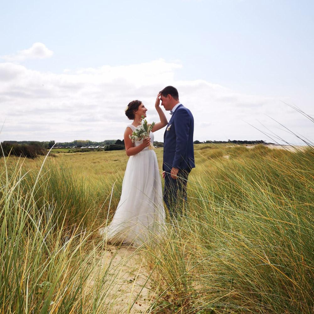 couple mariée robe de mariée boutique mariage paris