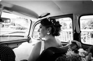 accessoire cheveux mariage tiare fleurs porcelaine vraie mariée