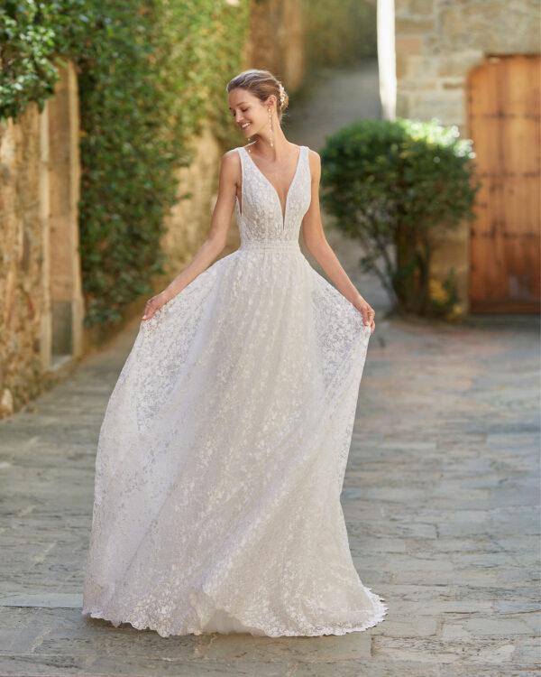 Robe de mariée Mesik