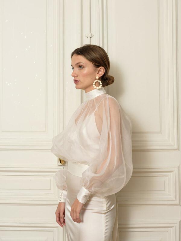 Robe longue en soie Susan. Concept store Paris