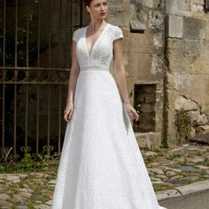 Robe de mariée longue Dorothy dentelle