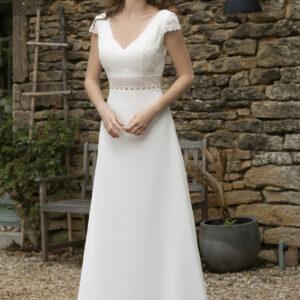 Robe de mariée longue Deva