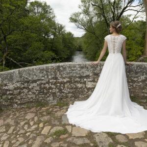 Robe de mariée longue Dina
