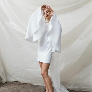 Robe de mariée courte Suzy by Romance