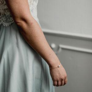 Bracelet perle et chaine Foster