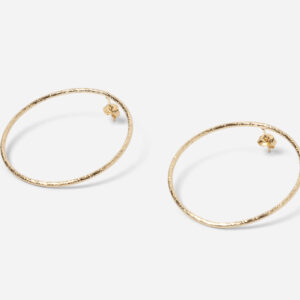 Boucles d'oreille babette dorées