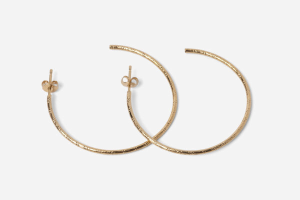 Boucles d'oreille Céleste dorées